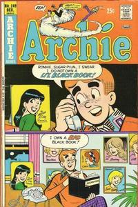 Cover Thumbnail for Archie (Archie, 1959 series) #249