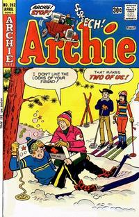 Cover Thumbnail for Archie (Archie, 1959 series) #252