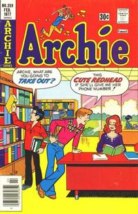 Cover Thumbnail for Archie (Archie, 1959 series) #259