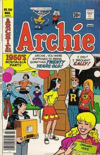Cover Thumbnail for Archie (Archie, 1959 series) #260