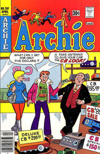 Cover Thumbnail for Archie (Archie, 1959 series) #261