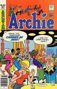 Cover Thumbnail for Archie (Archie, 1959 series) #263