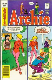 Cover for Archie (Archie, 1959 series) #264