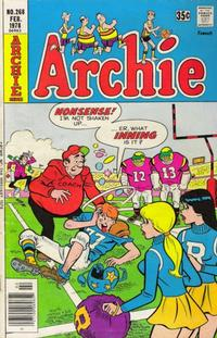 Cover Thumbnail for Archie (Archie, 1959 series) #268