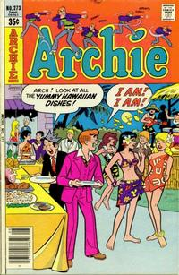 Cover Thumbnail for Archie (Archie, 1959 series) #273