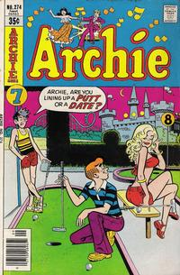 Cover Thumbnail for Archie (Archie, 1959 series) #274
