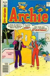 Cover Thumbnail for Archie (Archie, 1959 series) #276