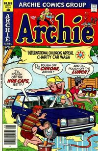 Cover Thumbnail for Archie (Archie, 1959 series) #283
