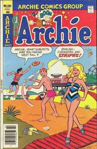 Cover Thumbnail for Archie (Archie, 1959 series) #285