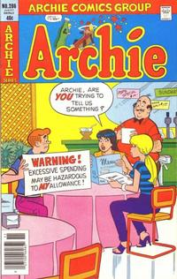 Cover Thumbnail for Archie (Archie, 1959 series) #286
