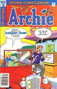 Cover Thumbnail for Archie (Archie, 1959 series) #287