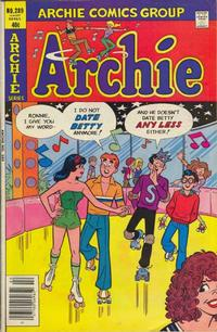 Cover Thumbnail for Archie (Archie, 1959 series) #289