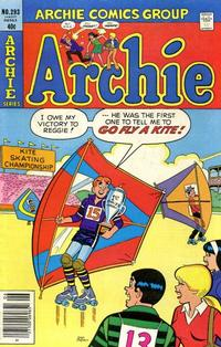 Cover Thumbnail for Archie (Archie, 1959 series) #293