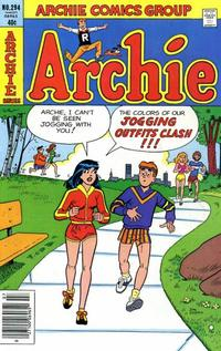 Cover Thumbnail for Archie (Archie, 1959 series) #294