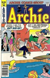 Cover Thumbnail for Archie (Archie, 1959 series) #296