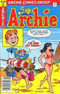 Cover Thumbnail for Archie (Archie, 1959 series) #308