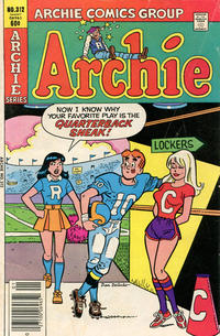 Cover Thumbnail for Archie (Archie, 1959 series) #312