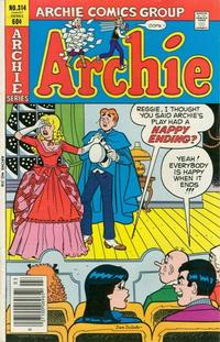 Cover Thumbnail for Archie (Archie, 1959 series) #314