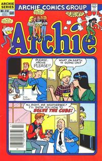 Cover Thumbnail for Archie (Archie, 1959 series) #318