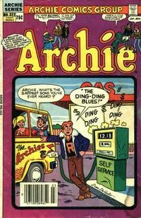 Cover Thumbnail for Archie (Archie, 1959 series) #322 [Canadian price variant]
