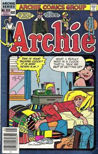 Cover for Archie (Archie, 1959 series) #323