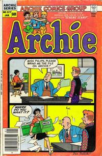 Cover Thumbnail for Archie (Archie, 1959 series) #327