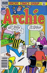 Cover Thumbnail for Archie (Archie, 1959 series) #341
