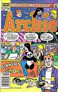 Cover for Archie (Archie, 1959 series) #343