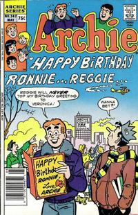 Cover Thumbnail for Archie (Archie, 1959 series) #347