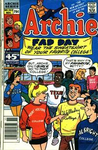 Cover Thumbnail for Archie (Archie, 1959 series) #353