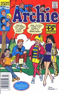 Cover Thumbnail for Archie (Archie, 1959 series) #354