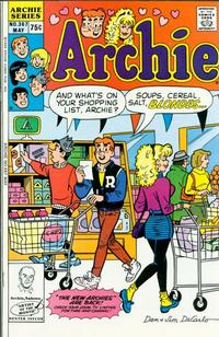 Cover Thumbnail for Archie (Archie, 1959 series) #367 [Direct]