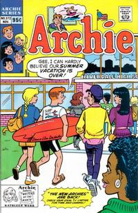Cover Thumbnail for Archie (Archie, 1959 series) #372 [Direct]