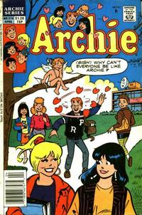 Cover Thumbnail for Archie (Archie, 1959 series) #376 [Canadian and British Price Variant]