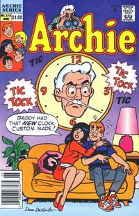 Cover Thumbnail for Archie (Archie, 1959 series) #378 [Newsstand]