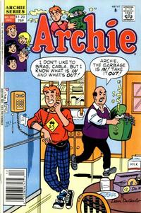 Cover Thumbnail for Archie (Archie, 1959 series) #383 [Canadian and British Price Variant]