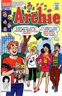 Cover Thumbnail for Archie (Archie, 1959 series) #393