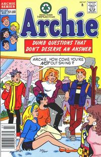 Cover Thumbnail for Archie (Archie, 1959 series) #397