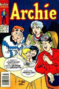 Cover Thumbnail for Archie (Archie, 1959 series) #425