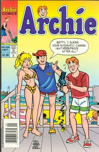 Cover Thumbnail for Archie (Archie, 1959 series) #439 [Newsstand]