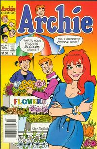 Cover Thumbnail for Archie (Archie, 1959 series) #441 [Newsstand]