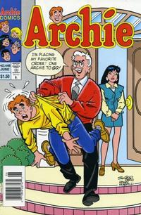 Cover Thumbnail for Archie (Archie, 1959 series) #448 [Newsstand]
