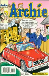 Cover Thumbnail for Archie (Archie, 1959 series) #465