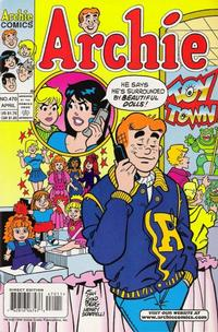 Cover Thumbnail for Archie (Archie, 1959 series) #470 [Direct Edition]