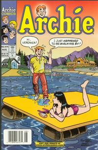 Cover Thumbnail for Archie (Archie, 1959 series) #474