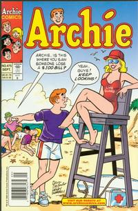 Cover Thumbnail for Archie (Archie, 1959 series) #475