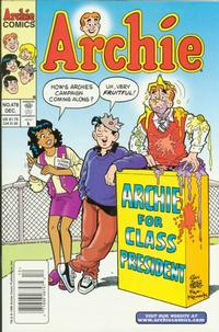 Cover Thumbnail for Archie (Archie, 1959 series) #478