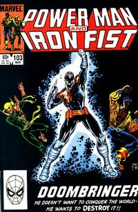 Cover for Power Man and Iron Fist (Marvel, 1981 series) #103 [direct]