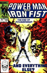 Cover Thumbnail for Power Man and Iron Fist (Marvel, 1981 series) #104 [direct]