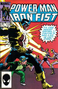 Cover Thumbnail for Power Man and Iron Fist (Marvel, 1981 series) #112 [direct]